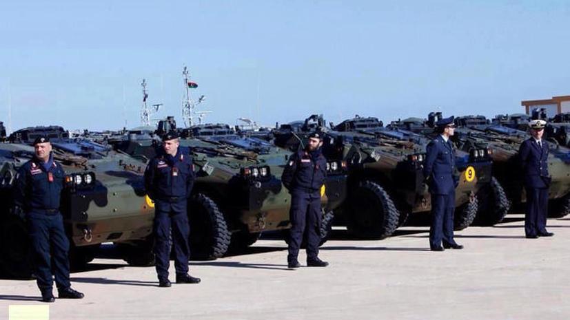 Военные Италии и Катара поддержат ливийские власти в годовщину революции