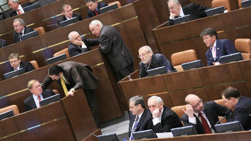 Совет Федерации могут покинуть еще семь сенаторов