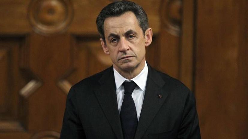 Экс-президент Франции Николя Саркози задержан в пригороде Парижа