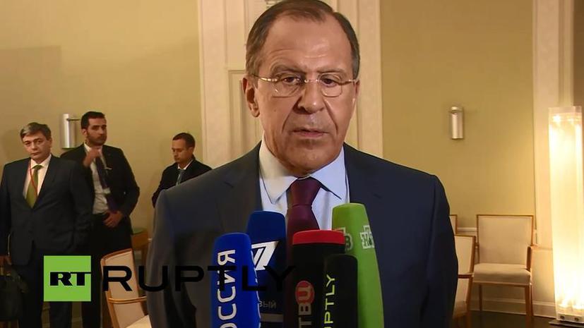 Сергей Лавров: В Берлине удалось отстоять минские договорённости
