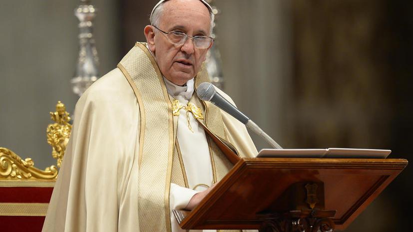 Папа Римский раскритиковал «дикий капитализм» и «культ денег»