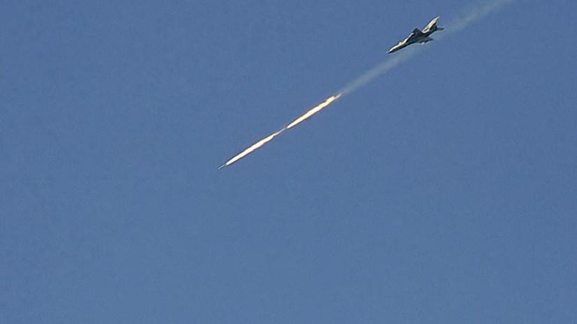 На границе с Турцией сбит сирийский самолёт