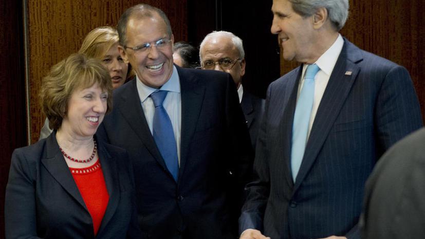 ЕС заявил о поддержке усилий Лаврова и Керри по дипломатическому решению политического кризиса на Украине