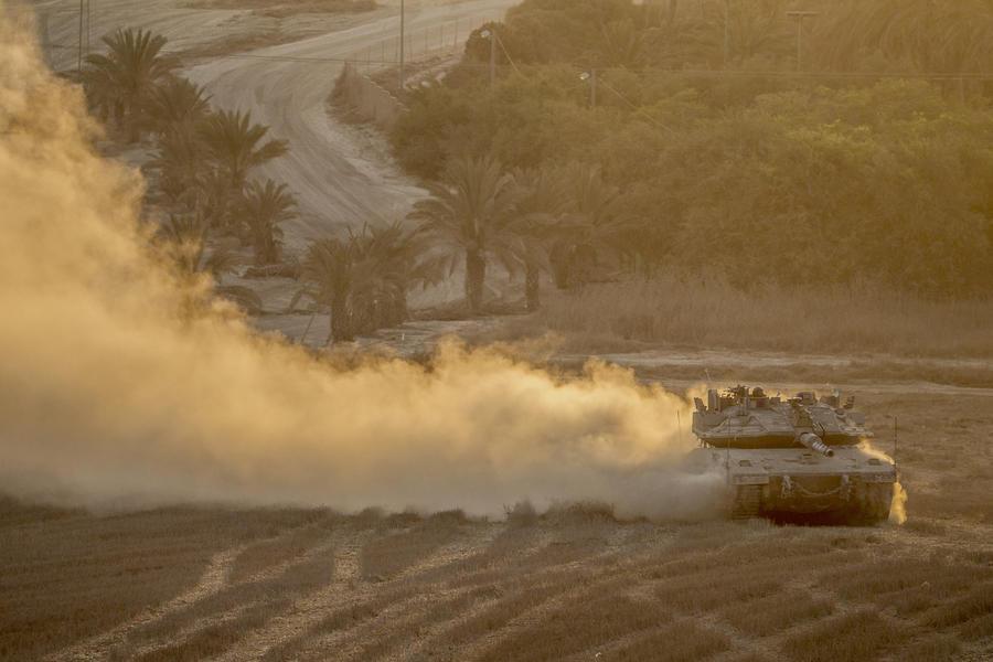 Вступило в силу трёхдневное перемирие в секторе Газа
