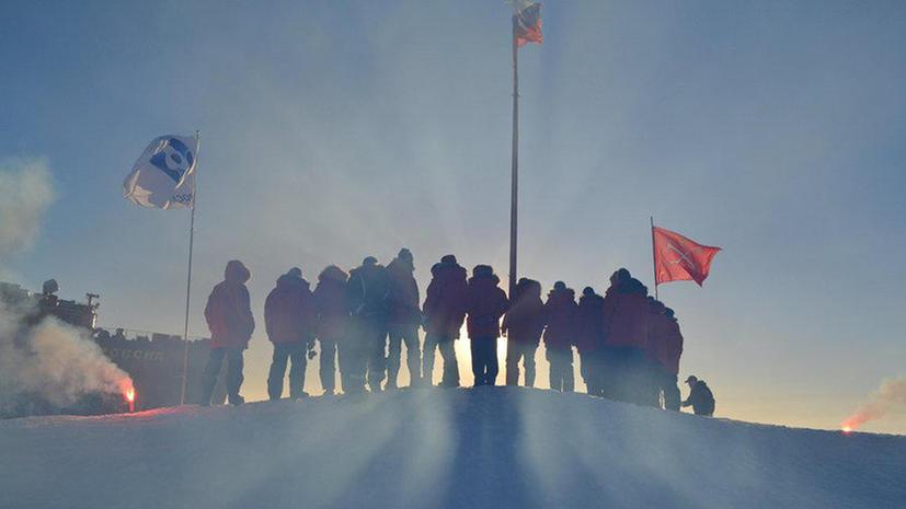 Российская дрейфующая арктическая станция «Северный полюс — 2015» официально начала работу