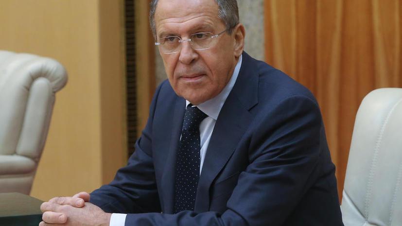 Сергей Лавров: В Москве рассчитывают, что Киев  возьмёт курс на общеукраинское примирение