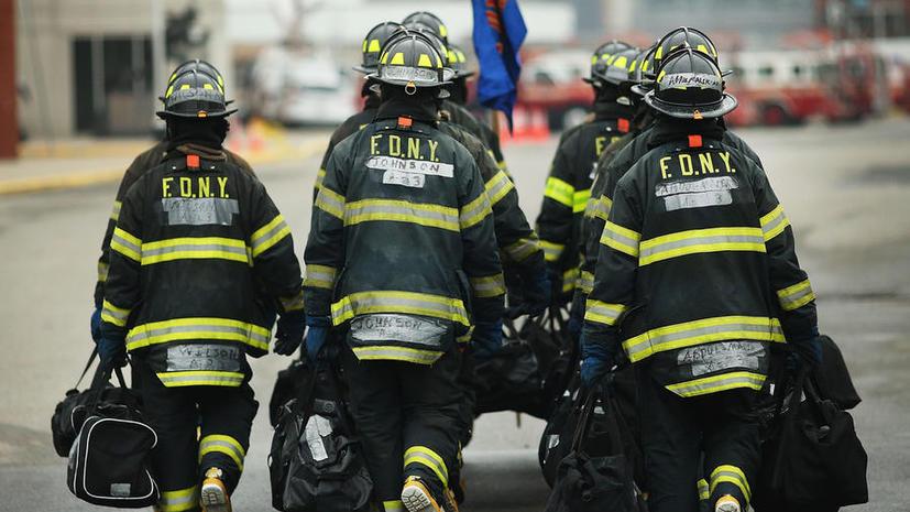 CNN: 70% пожарных в США имеют лишний вес