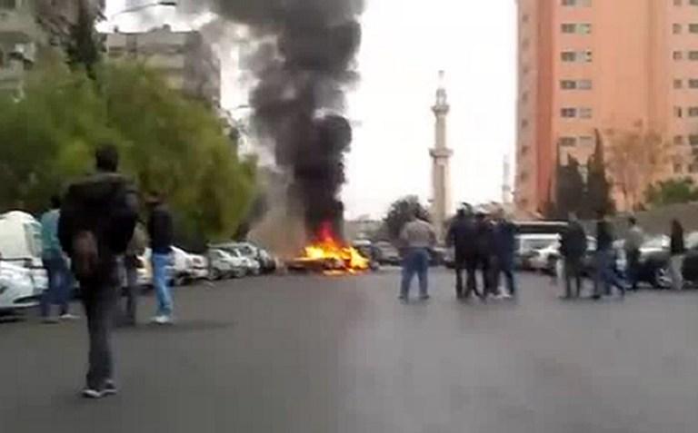 Возле здания МВД Сирии прогремел взрыв: погибли семь человек, 50 ранены