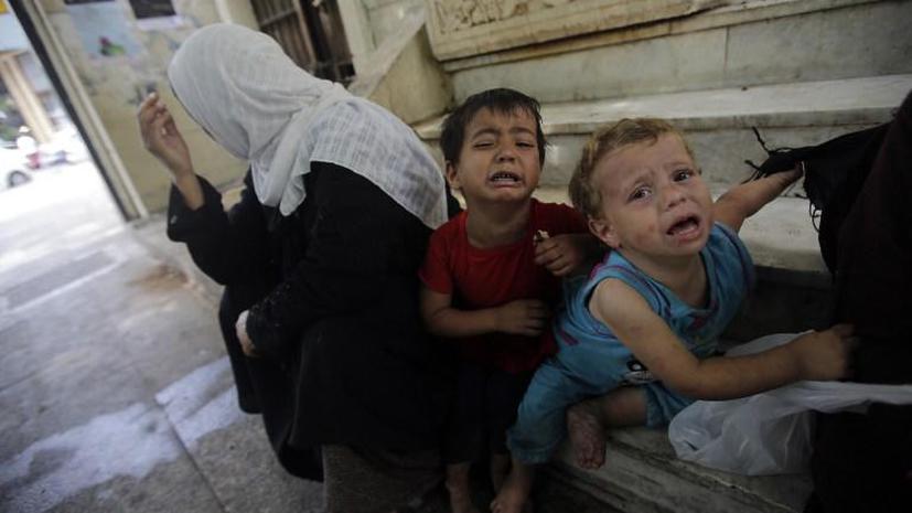 ООН: тысячи детей-беженцев из Сирии остались без попечения взрослых и могут подвергаться насилию
