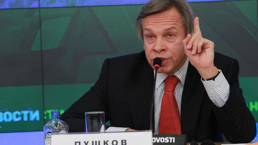 Алексей Пушков: Создаётся впечатление, что Украине Донбасс не нужен