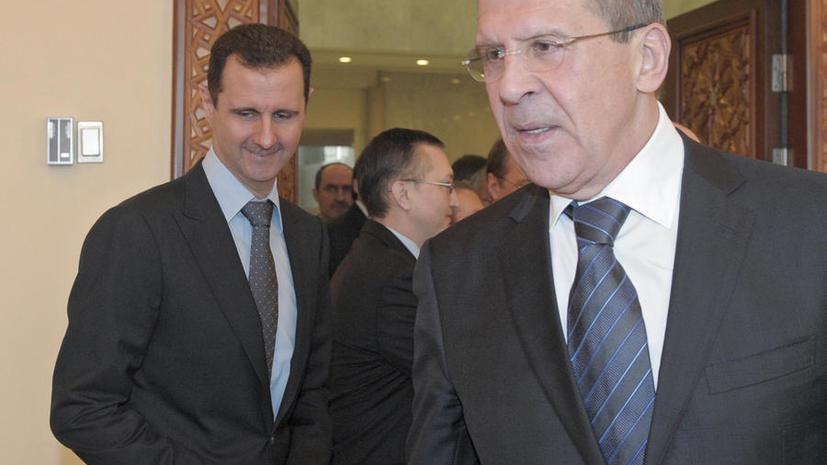 Башар Асад: Террористы провоцируют нападение США на Сирию, получая химическое оружие извне