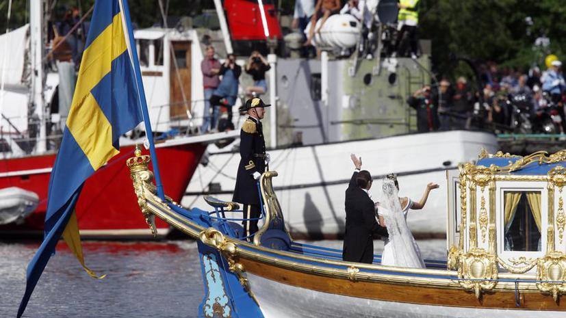 Шведская принцесса Мадлен обвенчается с американцем