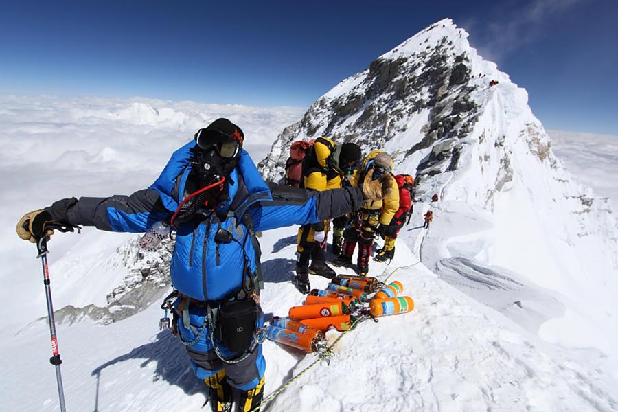 В Непале британца накажут за видео с вершины Эвереста
