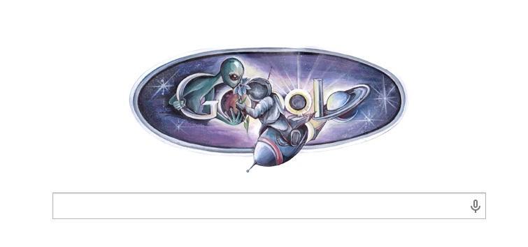 В День космонавтики заглавную страницу Google оформила российская школьница