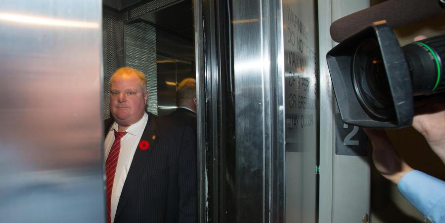 Мэр Торонто не сдержал своего обещания больше не пить