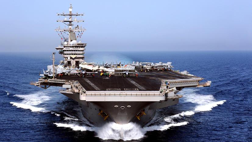 Америка стягивает войска к берегам Сирии