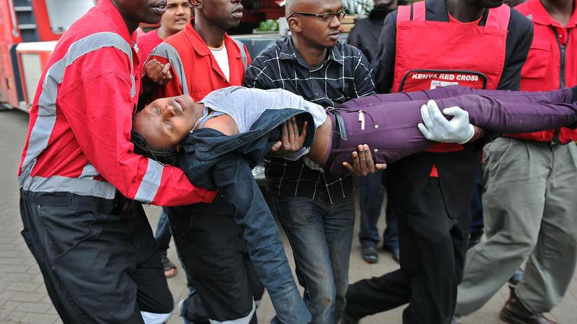 В Найроби продолжается операция по освобождению заложников