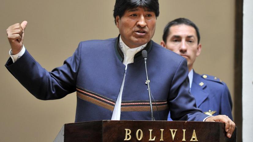 Боливия обвинила США в заговоре против президента