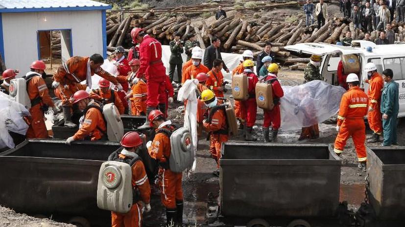 Взрыв газа на китайской шахте убил 28 человек