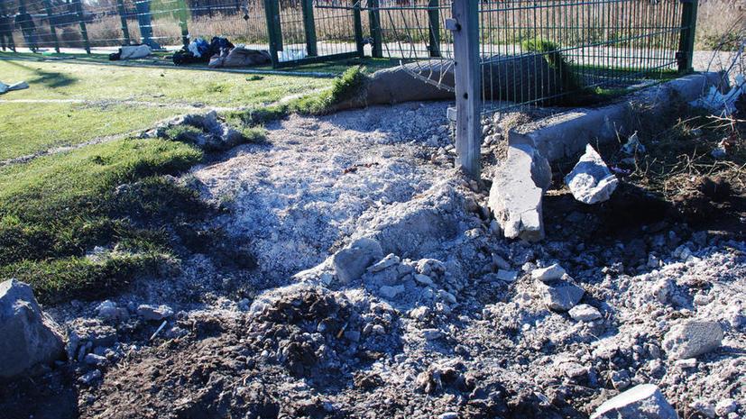 МИД РФ: Наблюдатели исказили подробности обстрела школы в Донецке в угоду Киеву