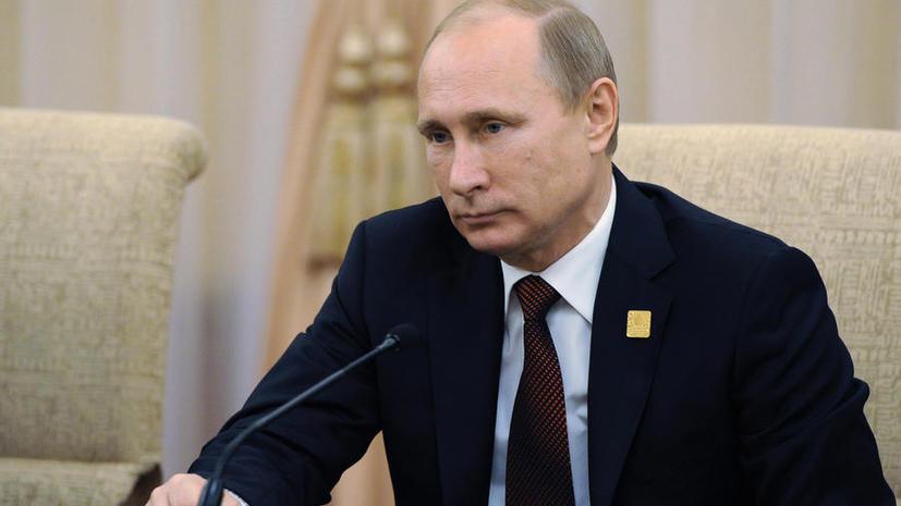 Владимир Путин: Украинские силовики постоянно обстреливают район падения Boeing в Донбассе