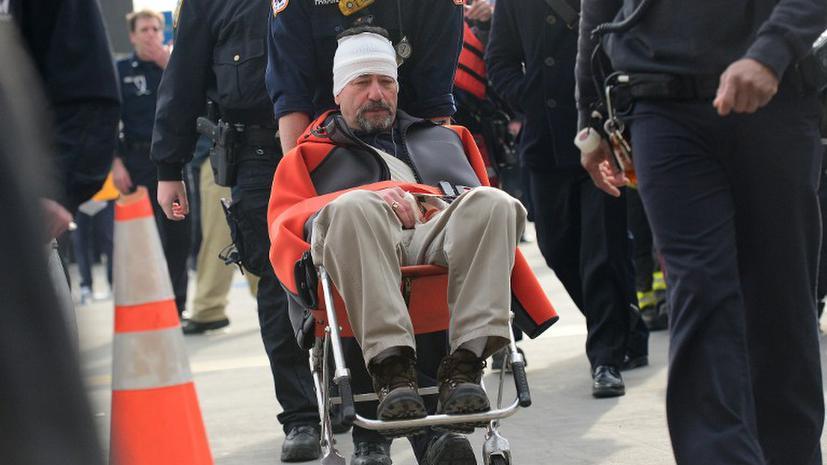 В Нью-Йорке потерпел крушение паром: более 70 пострадавших