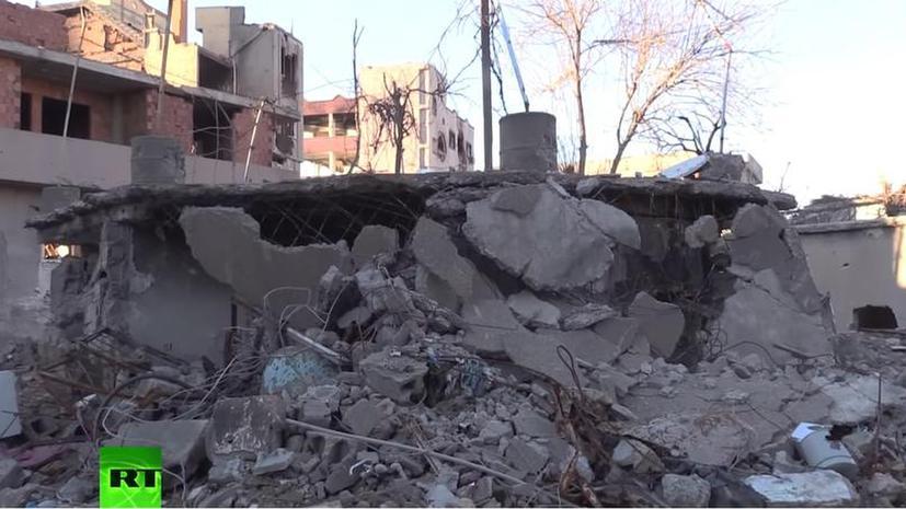#JusticeForKurds: RT публикует кадры из разрушенных курдских поселений в Турции