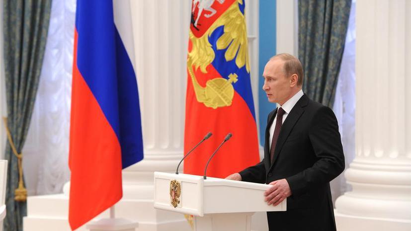 СМИ: За неисполнение указов президента России введут уголовное наказание