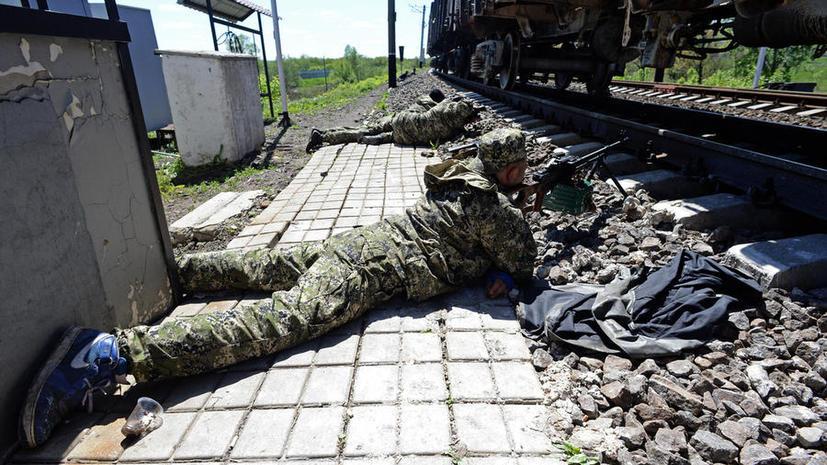 Ополченцы под Славянском ведут бои за телевышку и несколько блокпостов