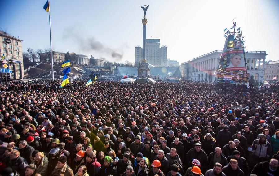 Австрийская газета: Киев надеется выйти из кризиса за счёт спонсоров Майдана