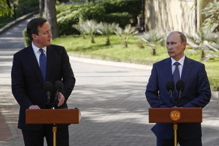Владимир Путин обсудит с Дэвидом Кэмероном подготовку к конференции «Женева-2»