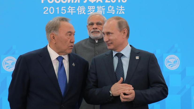 На саммите ШОС утверждено решение о принятии в состав организации Индии и Пакистана