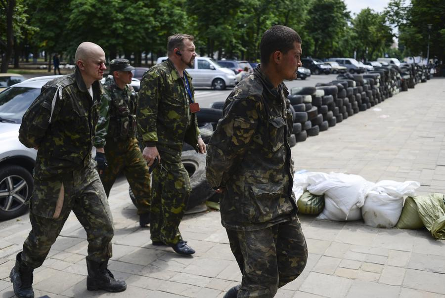 Неэкипированный батальон «Киев» насильно отправлен воевать на восток Украины