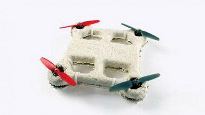 В Америке создали первый в мире беспилотник из грибов и бактерий