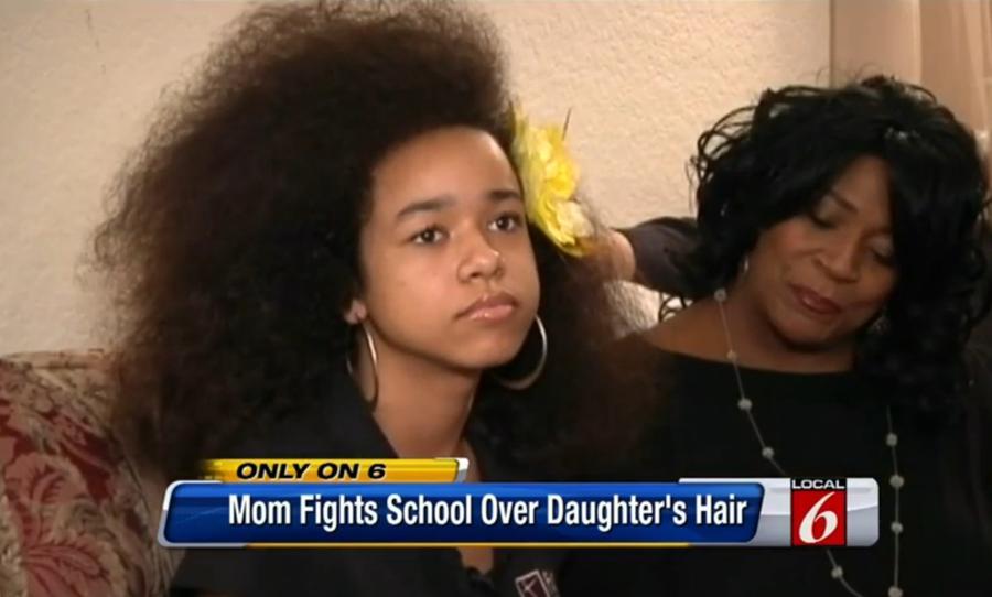 Темнокожую ученицу могут исключить из американской школы из-за причёски