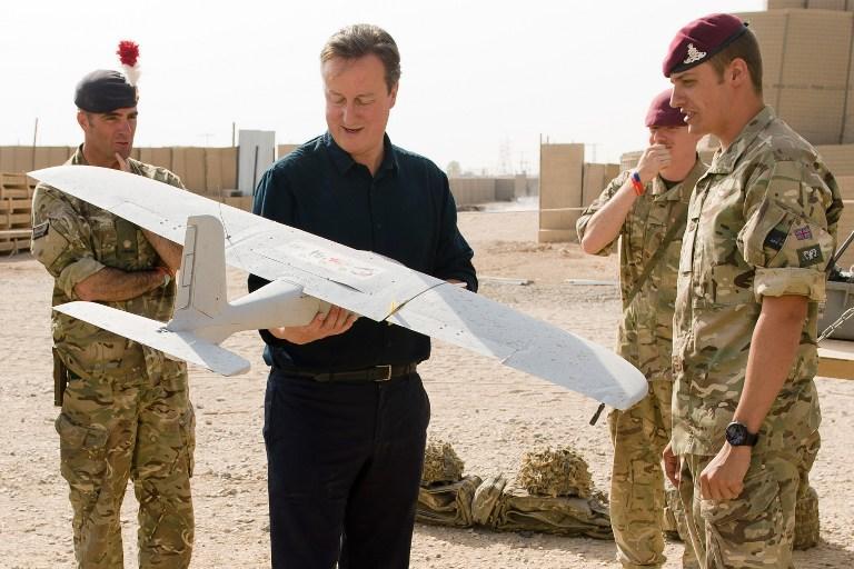 Дэвид Кэмерон посетил базу британских военных в Афганистане с необъявленным визитом