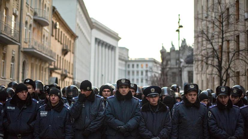 Российские полицейские организуют помощь бывшим сотрудникам «Беркута» и их семьям