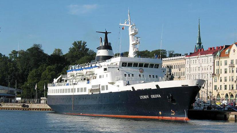 Корабль-призрак «Любовь Орлова» опасен для европейского судоходства