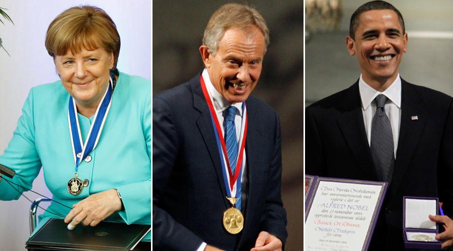Награда нашла героя: Ангела Меркель и другие политики, отмеченные неизвестно за что