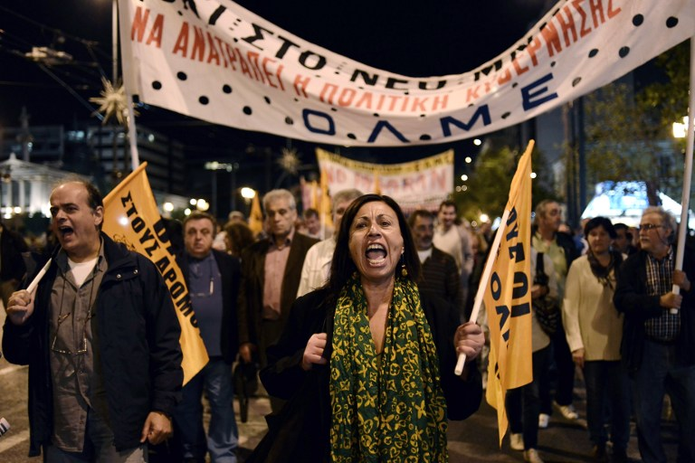 Греция вступает в недельную забастовку профсоюзов