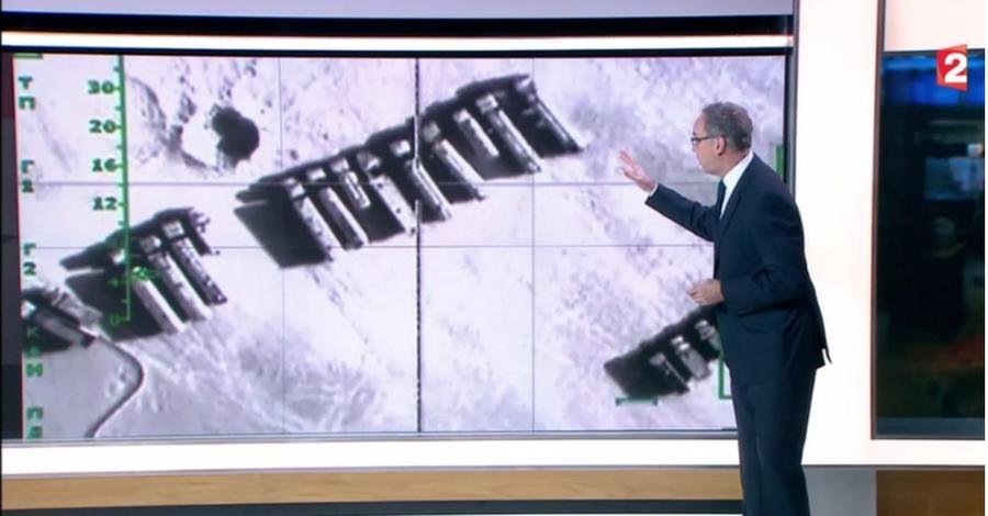 Французский телеканал использовал видео ВКС РФ в Сирии для иллюстрации успехов коалиции