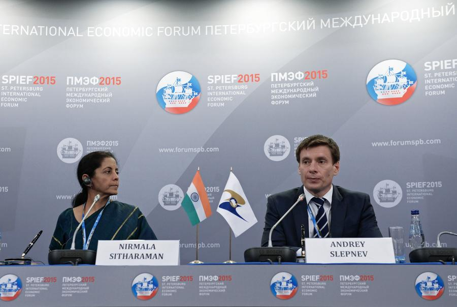 ПМЭФ в Индии: «Перспективы двустороннего сотрудничества»