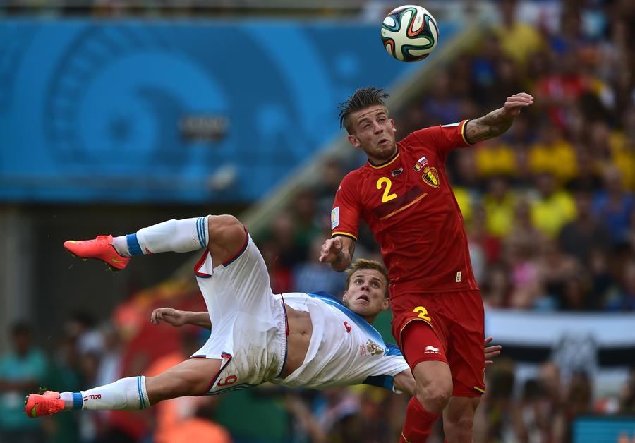 ЧМ-2014: Россия уступила Бельгии, но шансы на выход в плей-офф остаются