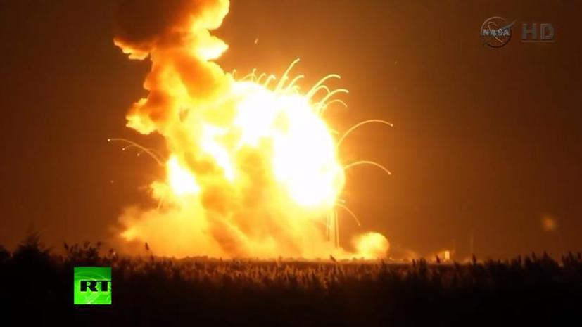 Ракета Antares была специально подорвана после выявления неполадок при запуске