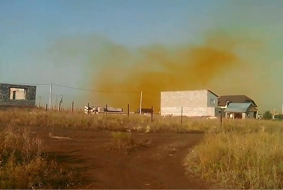 Оренбургские экологи: Ядовитый газ из воинской части не дошёл до населённых пунктов