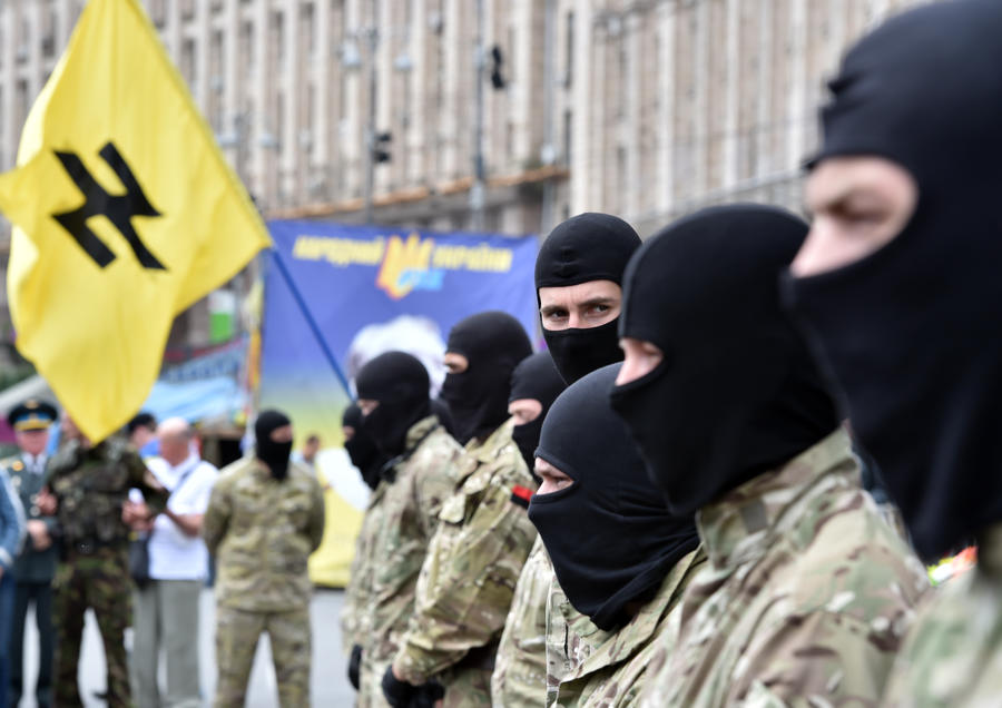 СМИ: Украинские фашисты могут возглавить новый Майдан в Киеве