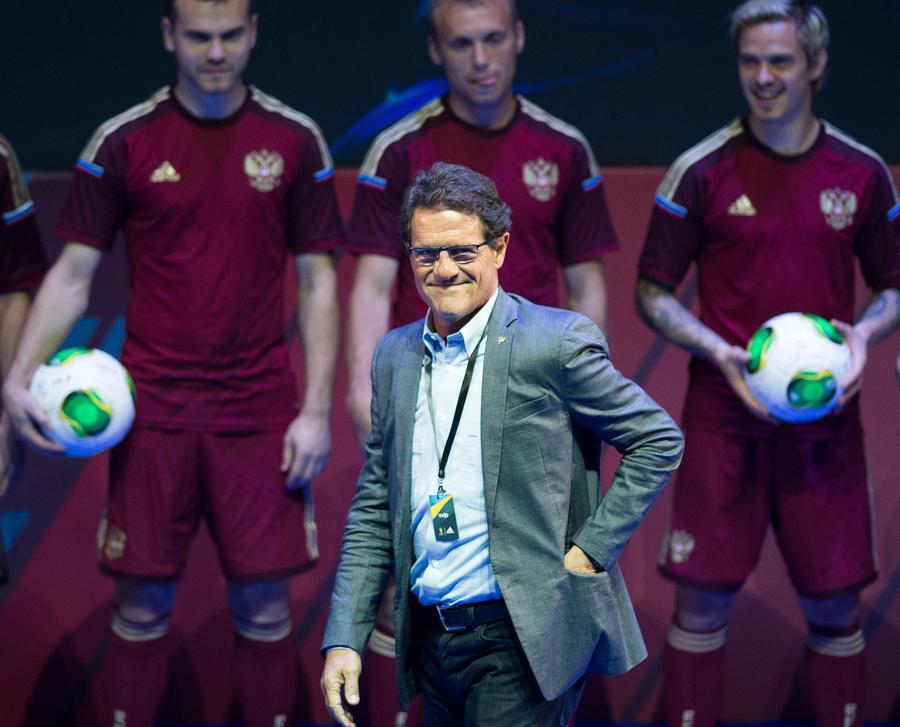 Фабио Капелло продолжит работу в сборной России до 2018 года