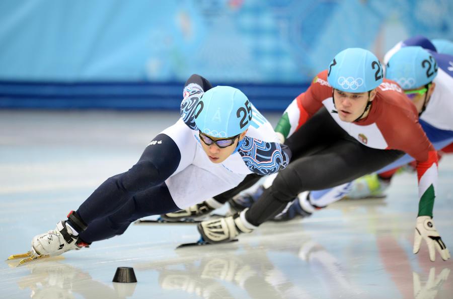 Россиянин Виктор Ан завоевал бронзовую медаль в забеге на 1500 метров по шорт-треку