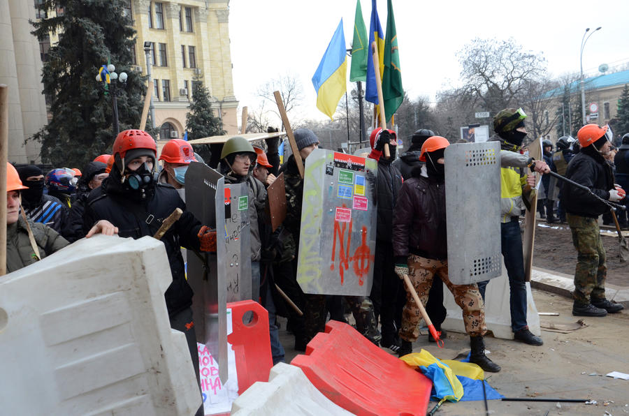 Лавров призвал Керри положить конец бесчинству «Правого сектора» и «Свободы» на Украине
