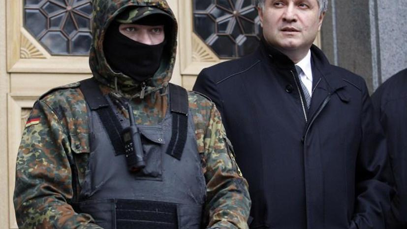 В МВД Украины сравнили сторонников «Правого сектора» с бандитами из Сомали